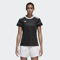 adidas Team Squadra 17 Short Sleeve Jersey - Women's - Black / White