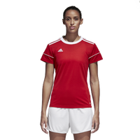 adidas Team Squadra 17 Short Sleeve Jersey - Women's - Red / White