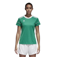 adidas Team Squadra 17 Short Sleeve Jersey - Women's - Green / White