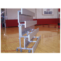 Trigon Tip and Roll Bleachers