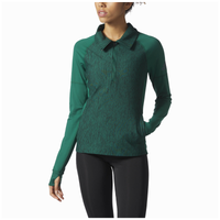 adidas Team Performer Baseline 1/4 Zip - Women's - Dark Green / Dark Green
