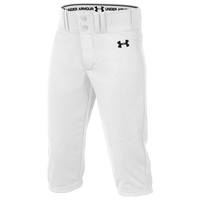 Under Armour Team Next Knicker Baseball Pants - Boys' Grade School - White
