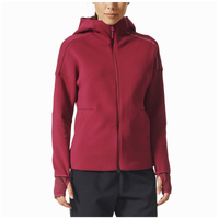 adidas Athletics ZNE 2.0 Pulse Full-Zip Hoodie - Women's - Red / Red