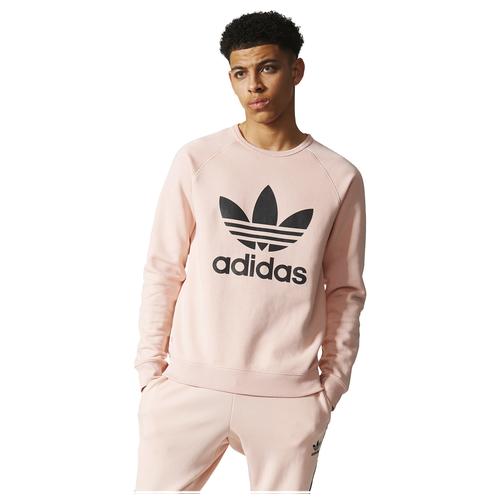 adidas Originals Trefoil Crew Herren Freizeitkleidung Vapor Pink