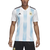 adidas Argentina Climalite Replica Jersey - Men's - Argentina - White / Light Blue