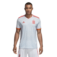 adidas Spain Climalite Replica Jersey - Men's - Spain - White / Light Blue