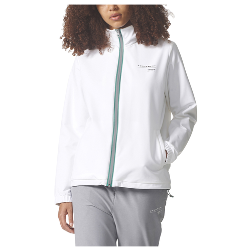 adidas Originals EQT Woven Track Top - Women's Casual - White BR5171