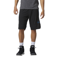 "adidas Essential 3 11"" Shorts - Men's - Black / Navy"