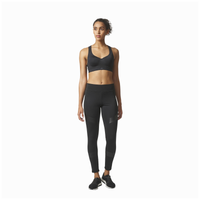 adidas Committed High Support Bra - Women's - All Black / Black