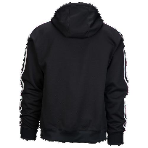 Adidas Originals anorak con capucha hombres ropa casual negro / negro