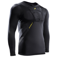 Storelli Sports Bodyshield Long Sleeve Undershirt - Men's - Black / Yellow