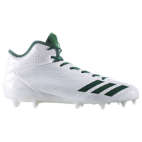 sports shoes db3d7 7cd48 adidas adiZero 5-Star 6.0 Mid - Mens - White  Dark Green