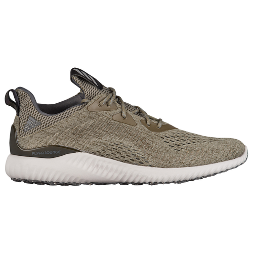 adidas Alphabounce EM - Men\u0027s - Olive Green / Off-White