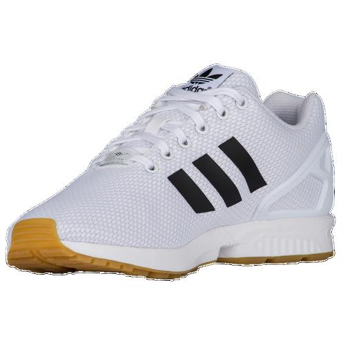 52e3819e87d20 50%OFF adidas Originals ZX Flux - Men s - Running - Shoes - White ...