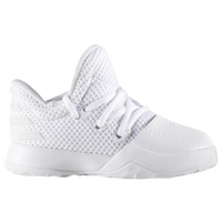 adidas Harden Vol. 1 - Boys' Toddler -  James Harden - All White / White