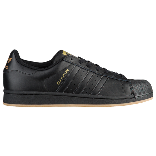 adidas Originals Superstar - Men\u0027s - Black / Gold