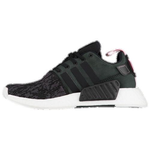 adidas Originals NMD R2 - Women\u0027s - Running - Shoes - Black/Black/Wonder  Pink