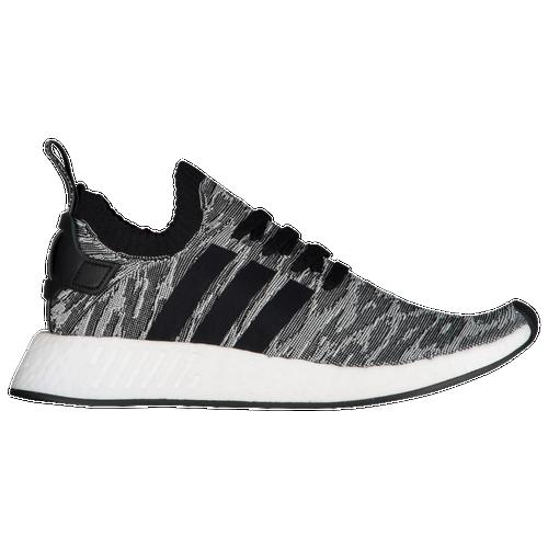 adidas Originals NMD R2 Primeknit - Men\u0027s - Black / Grey