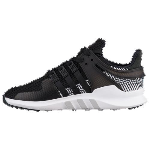 adidas shoes high tops black. adidas originals eqt support adv - men\u0027s black / white shoes high tops