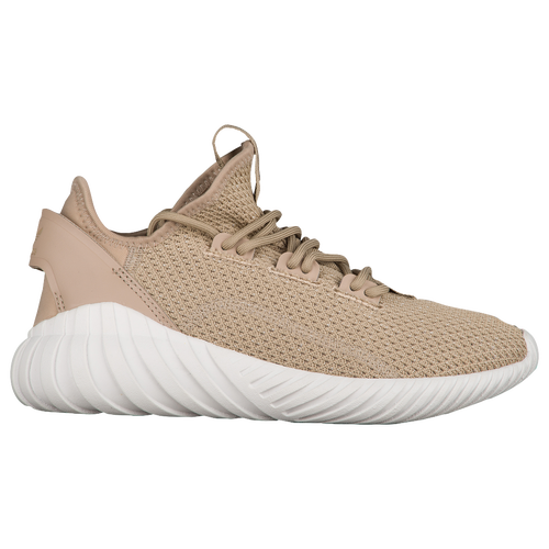 adidas Originals Tubular Doom Sock Primeknit - Boys' Grade School - Casual  - Shoes - Sesame/Clear Brown/Crystal White