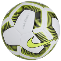 Nike Strike Pro Team Soccer Ball - White / Light Green
