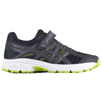 ASICS® PRE-Contend 4 - Boys' Preschool - Black / Light Green