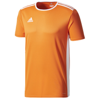 adidas Team Entrada 18 S/S Jersey - Men's - Orange / White