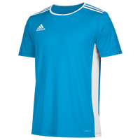 adidas Team Entrada 18 S/S Jersey - Men's - Light Blue / White
