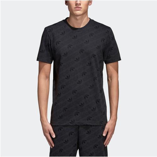 adidas originali emergene'a t - shirt uomini vestiti casual carbonio