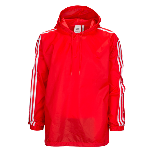 adidas Originals Poncho Windbreaker - Men's Casual - Red/White CE2474