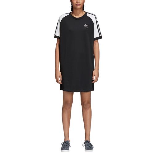 Adidas Originals Adicolor 3 Stripe Raglan Dress  mujer 's Casual