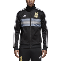 adidas 3 Stripes Track Jacket - Men's - Argentina - Black / White