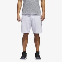 adidas Pickup Shorts - Men's - White / Grey
