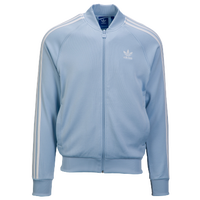 adidas Originals Superstar Track Top - Menu0027s - Light Blue / White  sc 1 st  Eastbay & Menu0027s adidas Originals Jackets Track Jackets | Eastbay.com azcodes.com