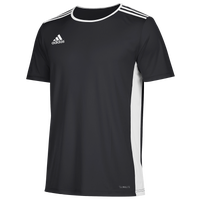 adidas Team Entrada 18 S/S Jersey - Men's - Black / White