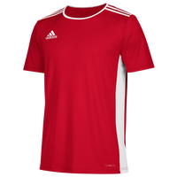 adidas Team Entrada 18 S/S Jersey - Men's - Red / White
