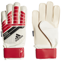 adidas Jr. Fingersave GK Gloves - Grade School - Red / Black