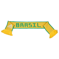 adidas World Cup 2018 Scarf - Brazil - Gold / Green