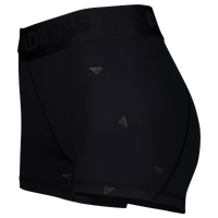 adidas ALPHASKIN Compression Shorts - Women's - Black / Black