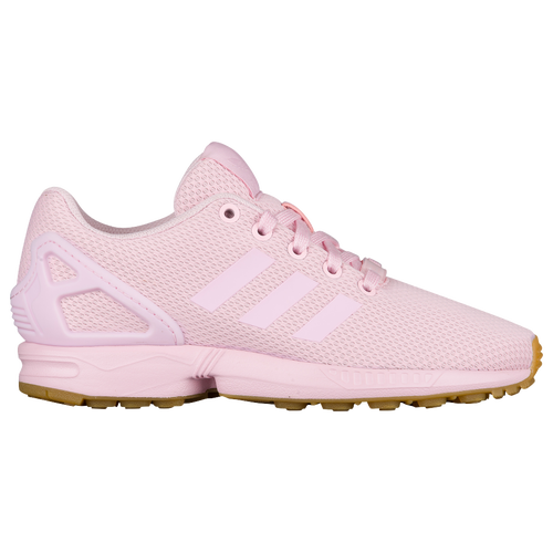 adidas Originals ZX Flux - Girls' Grade School - Casual - Shoes - Clear  Pink/Clear Pink/Gum