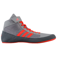 adidas HVC 2 Laced - Boys' Grade School - Grey / Red