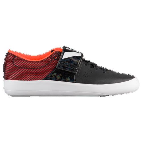 adidas adiZero Shotput - Men's Core Black/Footwear White/Orange CG3840