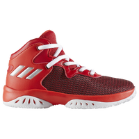 adidas Crazy Explosive Bounce - Boys' Preschool - Red / Silver