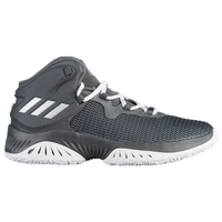 adidas Crazy Explosive Bounce - Boys' Grade School - Grey / Silver