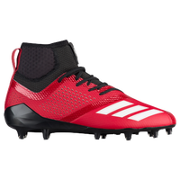 adidas adiZero 5-Star 7.0 Mid - Men s - Red   White e8b8e20e9