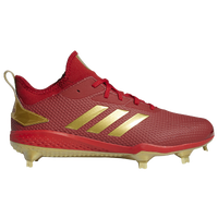 adidas adiZero Afterburner V Gold - Men's - Red / Gold