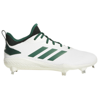 adidas adiZERO Afterburner V - Men's - White / Dark Green