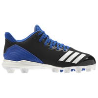 adidas Icon 4 MD - Boys' Grade School - Black / Blue