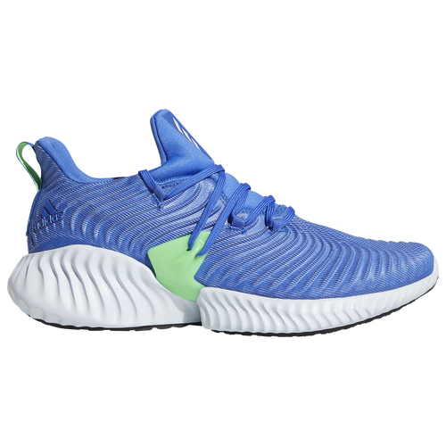 adidas Alphabounce Instinct - Mens - Running - Shoes - Hi-Res BlueAero  BlueShock Lime