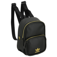 adidas Originals Mini PU Leather Backpack - Black / Gold